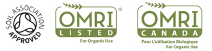 Polysulphate is approved for organic use in a number of countries around the world